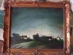Rudnay Gy olaj festmény