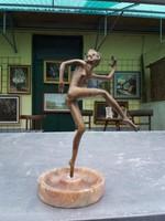 Bronz szobor.Balerina
