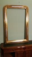 Biedermeier keret, felújított! 120 x 80 cm, bieder képkeret, tükör, keret, tükörkeret