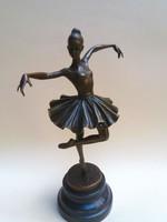 Balerina  bronz  szobor 10065