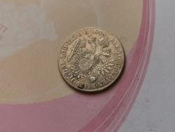 """1848""""A""""V.Ferdinánd ezüst 20 krajcár,szép darab 6,68 gramm 0,583"""