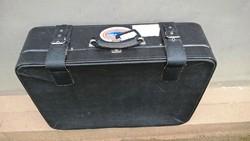 Ritkaság!!! Cavalet régi osztrák légimentős koffer, bőrönd