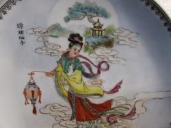 Kinai porcelán tányér