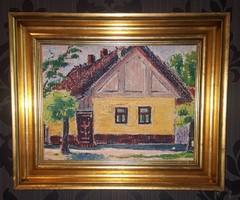 Járitz Józsa - napsütötte ház