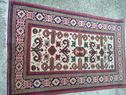 Szőnyeg, indiai kézzel csomózott , gyapjú