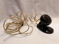 Régi bakelit mikrofon