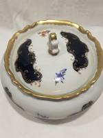 Reichenbach porcelán bonbonier és kínáló 2 db