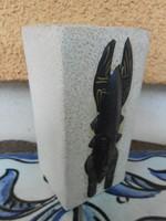 Gyertyatartó kerámia egyiptomi