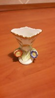 Herendi ibolya váza 6,5 cm