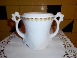 Szecessziós  porcelán cukortartó