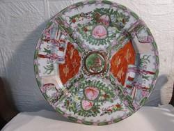 Nagyméretű Kinai porcelán tányér