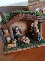 Betlehem dekoráció, karácsonyi