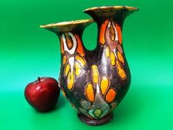 /Farkas szign./kerámia váza
