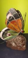 Tiffany stílusú pillangó éjjeli lámpa.15000.-Ft