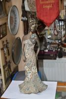 Nagy méretű Bod Éva kerámia figura