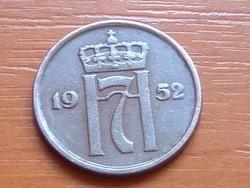 NORVÉGIA 2 ŐRE 1952 #