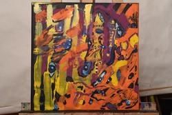 Akril festmény absztrakt eladó