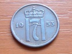 NORVÉGIA 2 ŐRE 1953 #
