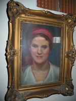 Lányportré