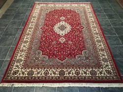 Indiai kézi csomózású gyapjú PERZSA szőnyeg, 195 x 300 cm