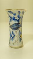 Herendi nagyon ritka, kék Zova mintás ibolya váza