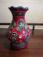 Retro Bay West Germany kerámia váza, 62 - 20