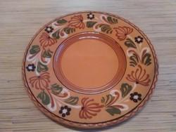 Mezőtúri kerámia fali dísz tányér (Szabó Lajos)