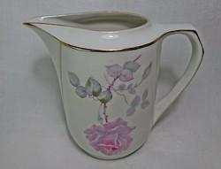 EAMAG Bavaria csőrös 6 dl-es nagy porcelán rózsás kiöntő.