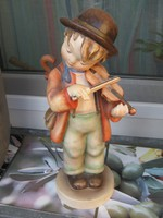 Hatalmas Hummel, LITTLE FIDERER, A kis hegedűs, az első kiadás, 30 cm