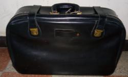 Jó állapotú retro bőrönd
