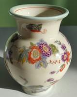 Thomas Bavaria Germany 03528/3 Thomas Ivory kis váza 9,5cm magas,has szélessége 7cm kézífestésű