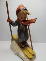Ritkaság!!! Antik sielős Hummel figura