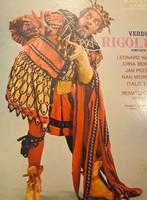 Verdi Rigoletto - retro, olasz bakelit kiadás - soha sem volt használva, Opera kedvelőknek