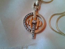 Art deco aranyozott ezüst