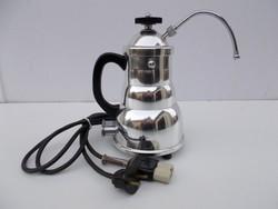 Gyönyörű formatervezett Kayser Austria  Pamosa elektromos kávéfőző az '50-es évekből