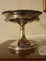 Antik kasszicista ezüst kínáló! 430 gramm.