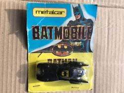 Metalcar Batmobile batman matchbox dobozában újszerű