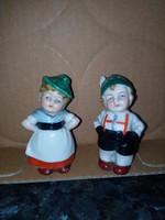 Régi Német porcelán sószóró pár