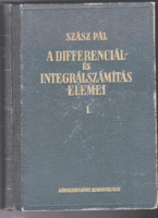 A differenciál- és integrálszámítás elemei / 1951