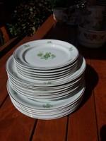 Hollóházi tányérsor 6 személyes