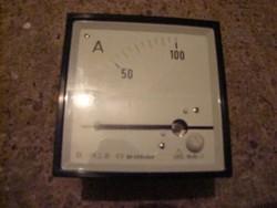 Tábla műszer ampermérő dobozában