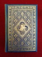 Unikális! Aranyozott borítójú, és szegélyű, Szent Ágoston elmélkedései, 1857. Bárói hagyaték!!