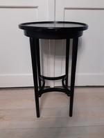 Bécsi szecessziós asztal, kecses állvány , Thonet