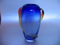 Gyönyörű, régi MAKORA váza (20,5 cm)-jelzett