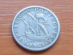 PORTUGÁLIA 2,5 ESCUDOS 1963 #