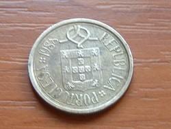 PORTUGÁLIA 5 ESCUDOS 1988 CSIPKE #