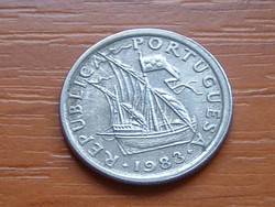 PORTUGÁLIA 2,5 ESCUDOS 1983  #