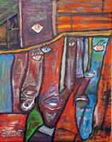 Bálint Sándor  festmény vásznon 50x40cm