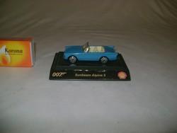 "Retro match-box  "" 007 Sunbeam Alpine 5 "" játék autó"