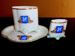 3 db Bavária porcelán